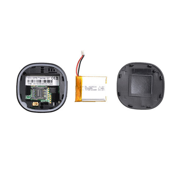 Qbit GPS Tracker - Micro sized GPS Tracker with live audio