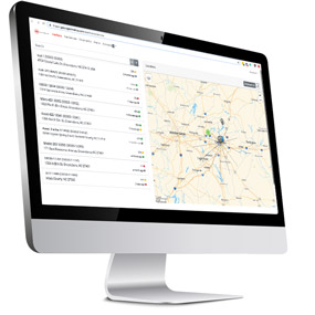 GPS Tracking dashboard