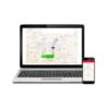 GPS tracking map and app
