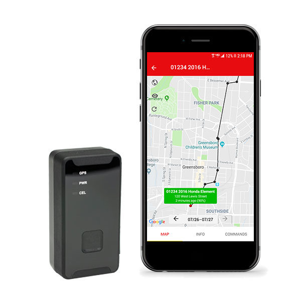 People 4G GPS Tracker on Verizon GPS Tracker for Cars and Property Micro 420