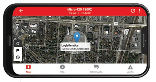 Realtime GPS Tracking App