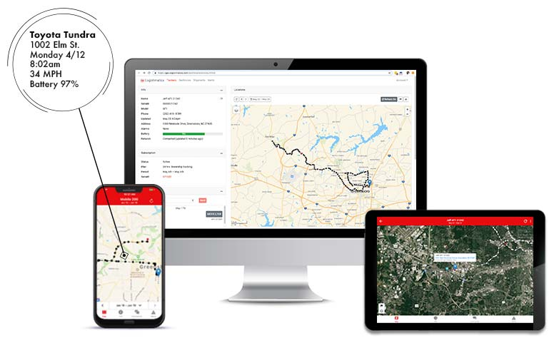 GPS Tracking app