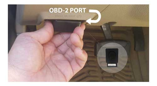 OBD Tracker Placement