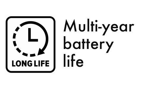 Multi-year battery