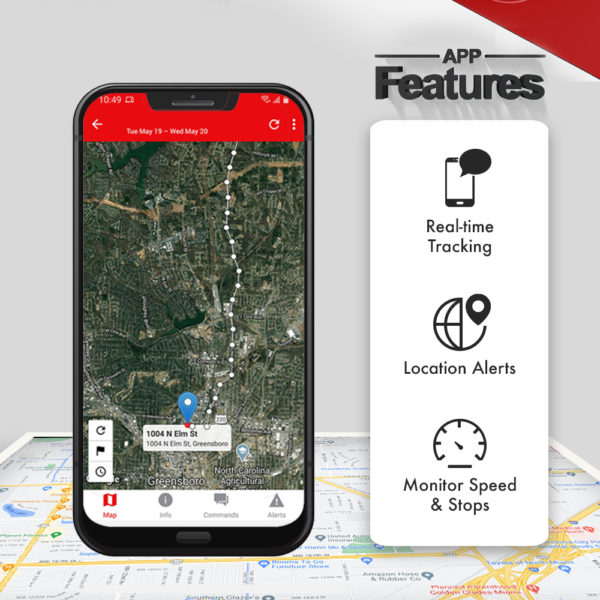 GPS tracker with live audio